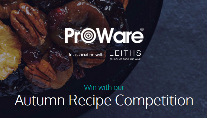 ProWare's Autumn Recipe Competition
