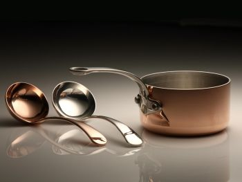 ProWare's Image of Mini Copper & Silver Ladles