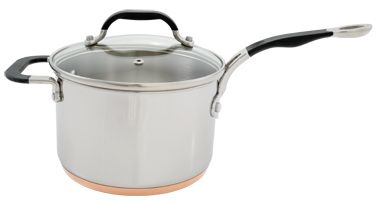 Image of ProWare Copper Base 20cm Saucepan