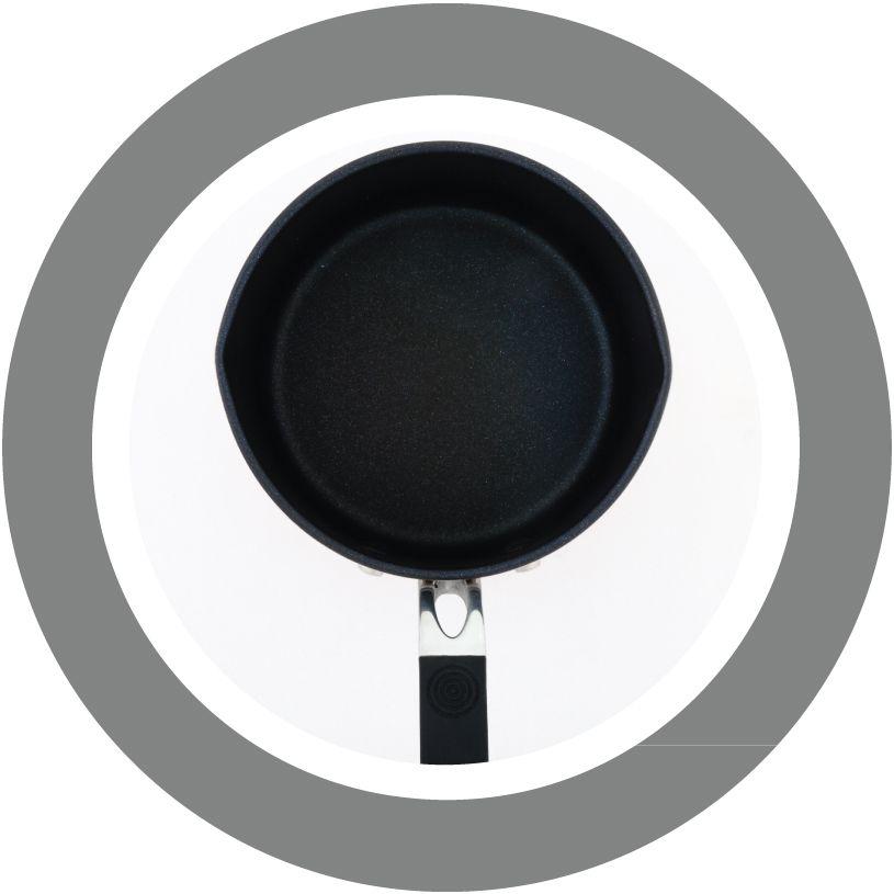 ProWare Copper Base Milk Pan