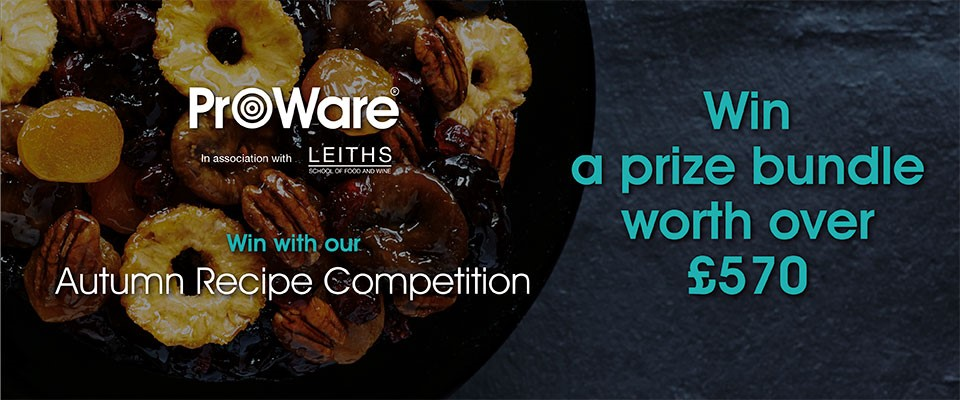 Image of ProWare's Autumn Recipe Competition
